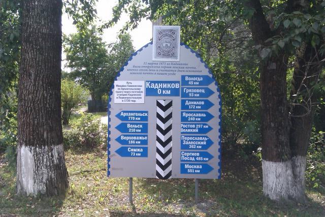 Кадников. Нулевой километр