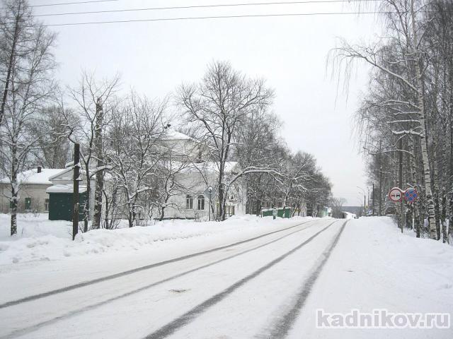 Кадников зимой