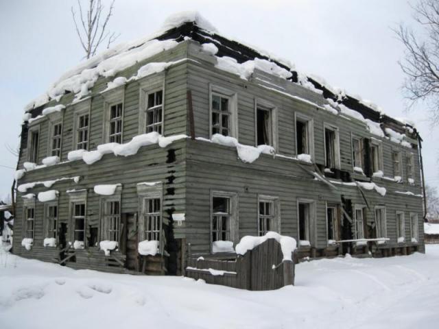 Бывший когда-то детский сад на ул.Карла Маркса