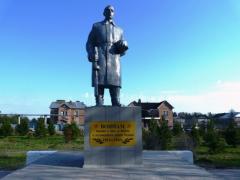 Памятник воину.